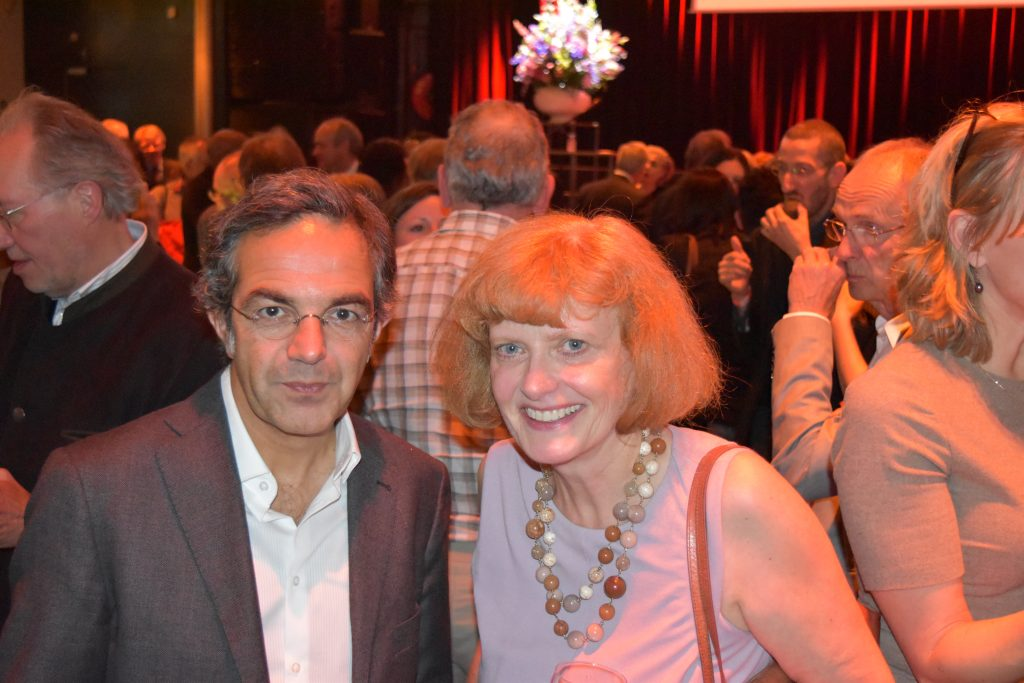 Navid Kermani and Helga Druxes