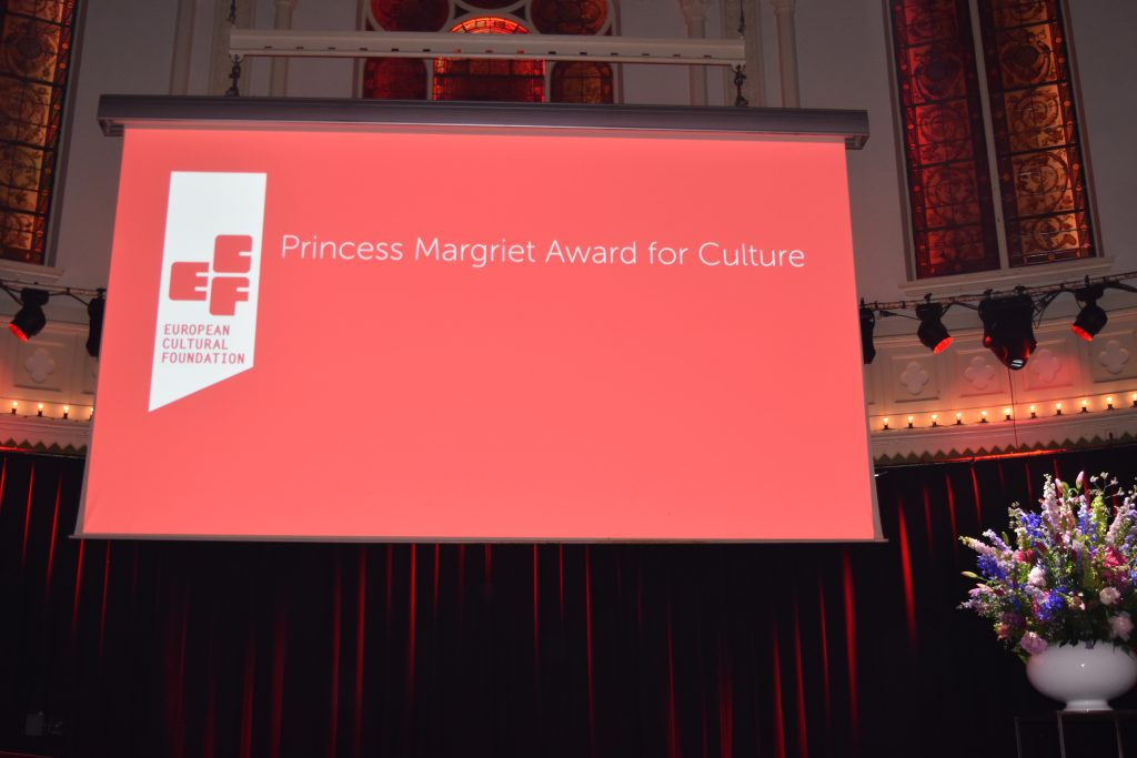 ECF Princess Margriet Award for Culture, 2017
